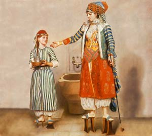 Turkish Woman with Slave, late 18th centuryJean-Etienne Liotard� Musée d'art et d'histoire, Ville de Gen�ve