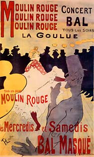 La Goulue: Dance at the Moulin Rouge, 1891Henri de Toulouse-LautrecMusée Toulouse-Lautrec, Albi-Tarn