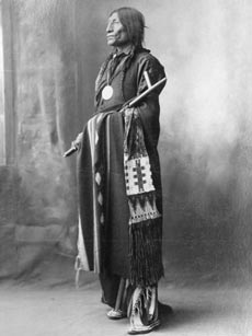 Chief Wolf Robe, Southern Cheyenne, 1898Frank Rinehart and Adolf MuhrFrom the Collections of the Omaha Public Library