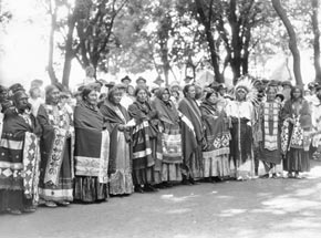 Omaha Powwow, 20th centuryNebraska State Historical Society Photograph Collections